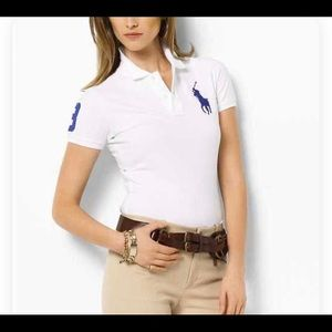 """RALPH LAUREN """"THE SKINNY POLO"""", SIZE SMALL"""